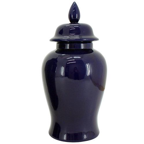 Indigo Temple Jar - Small