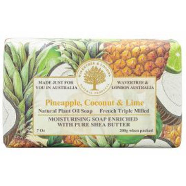 Pineapple, Coconut & Lime 200g Soap