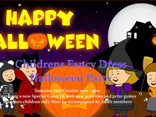 Childrens Fancy Dress Halloween Party