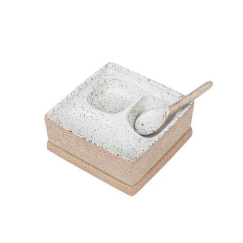 Salt & Petter Box - White Garden to Table