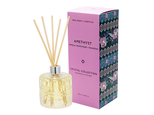 Diffuser Amethyst - Vanilla, White Musk & Patchouli