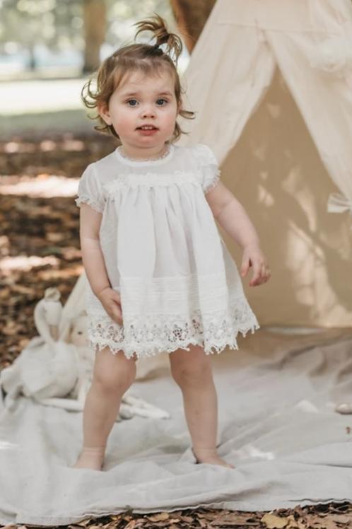 Sugar Plum Baby Dress - Ivory