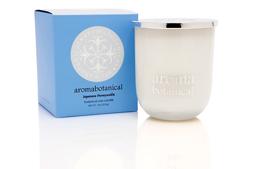 Aromabotanical - Japanese Honeysuckle 375g Candle