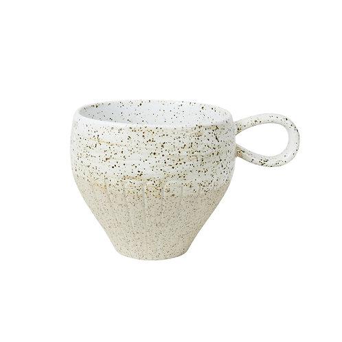 White Ceylon Mug