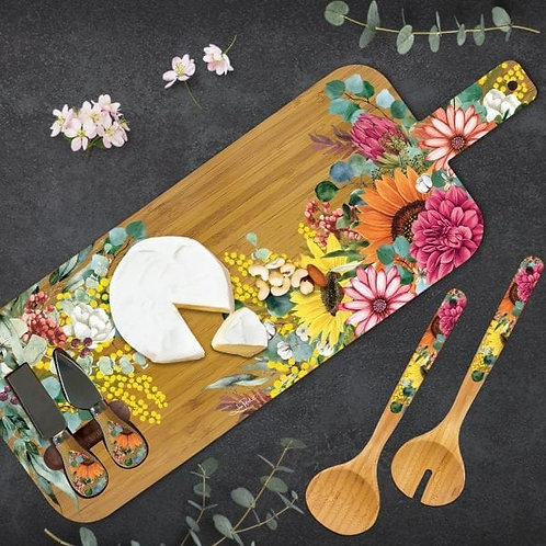 Bamboo Spring Bouquet Platter