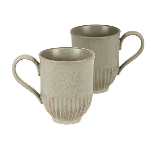 Olive Crafted Mug - 2 Pack