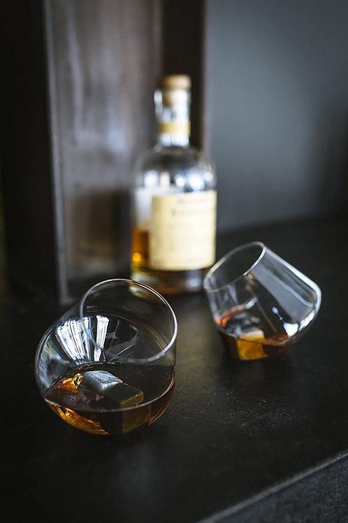 Rocking Whisky Glasses - 2 Pack