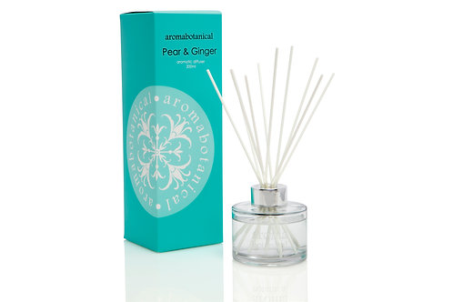 Aromabotanical - Pear & Ginger 200ml Reed Diffuser
