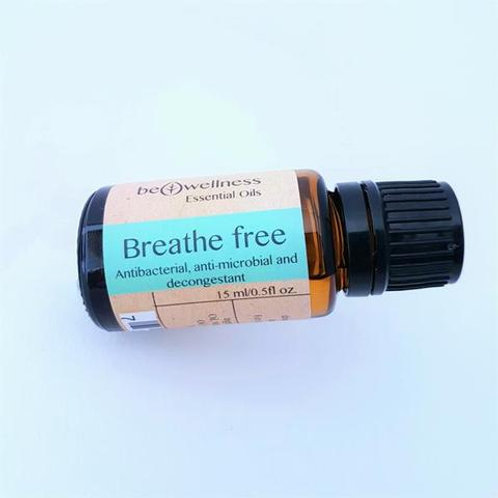 Breathe Free Pure Essential Oil Blend