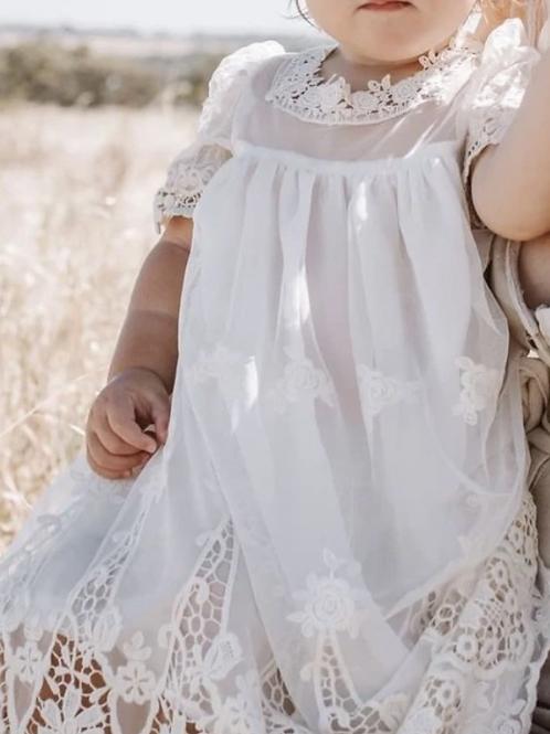 Heirloom Cherub Dress - Ivory