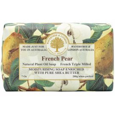 French Pear 200g soap