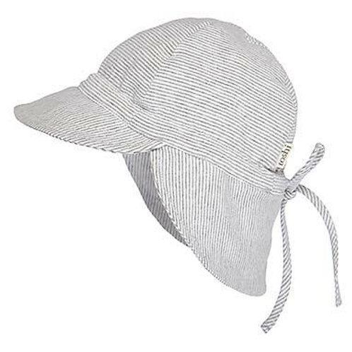 Flap Cap Baby Hat - Dove