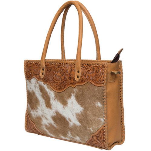 Tooling Leather Big Cowhide Bag