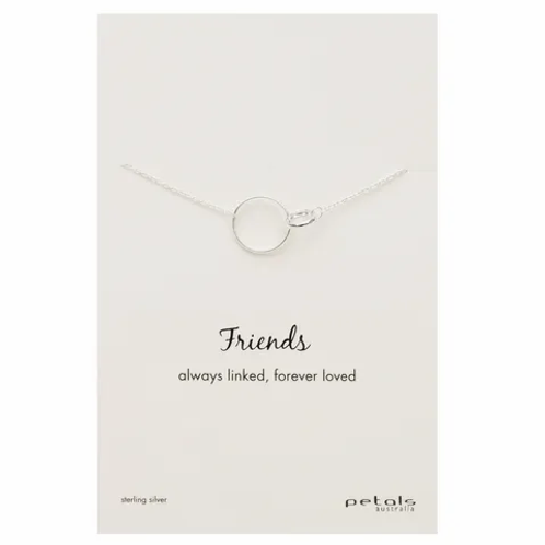 Silver Friends Necklace