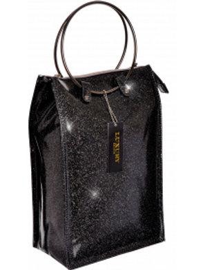 Lush Wine Cooler Hand Bag - Black