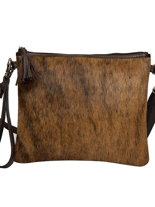 Brindle Cowhide Clutch Bag – TorontoD