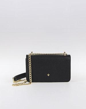 Peta+ Jain Leona Small Crossbody Bag - Black Pebble