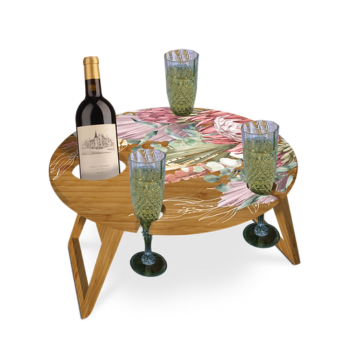 Bamboo Picnic Table - Dreamy Fields