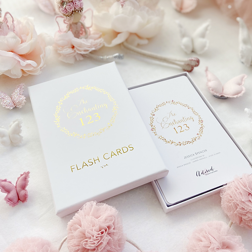 The Enchanting 123 Flash Cards