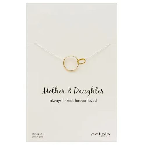 Gold - Mother & Daughter Necklace