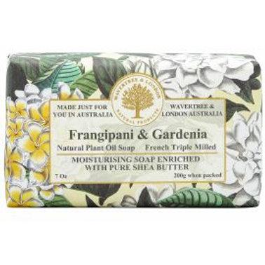 Frangipani & Gardenia 200g Soap