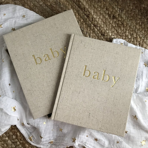 Baby - First Year of You Journal