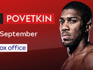 Live Boxing on Sky