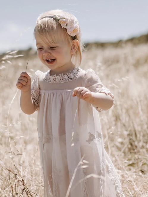 Heirloom Cherub Dress - Blush