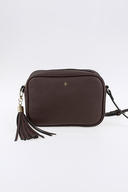 Peta+ Jain Gracie Crossbody Camera Bag - Chocolate Pebble