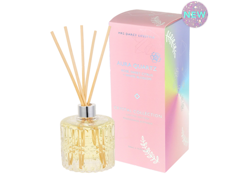 Diffuser Aura Quartz - Rose, Sweet Citrus & Orange Blossom
