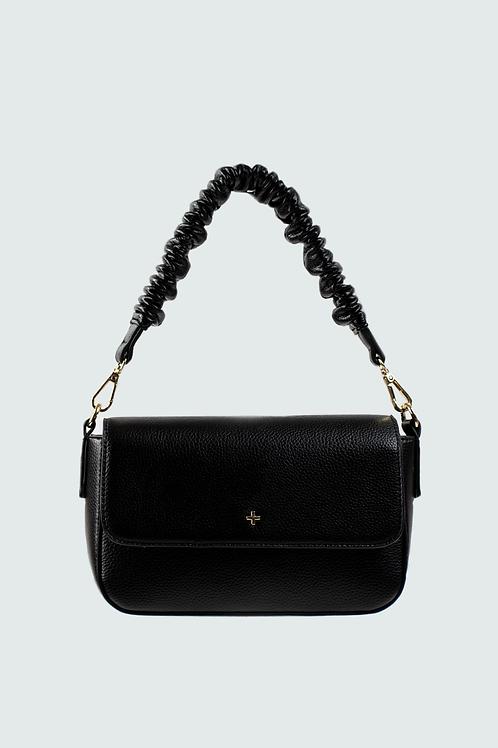 Peta+ Jain Aimee Shoulder Bag - Black Pebble