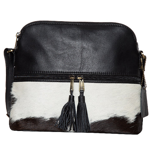 Cowhide Leather Bag – Finland Black Leather
