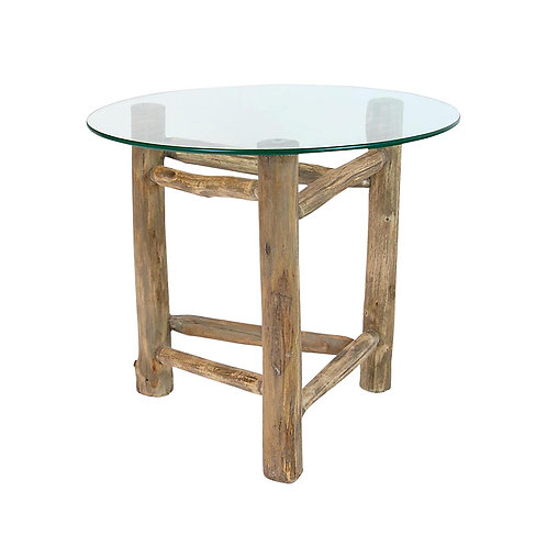 Alaska Hardwood Round Trileg Table Small