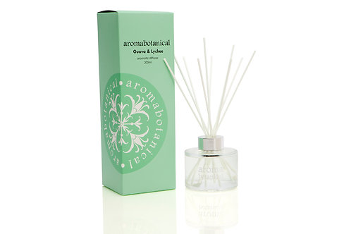 Aromabotanical - Guava & Lychee 200ml Reed Diffuser