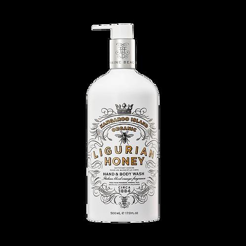 K.I. Ligurian Honey Hand & Body Wash 500mL