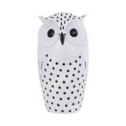 Resin Black & White Owl (Large)