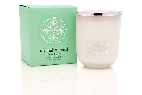 Aromabotanical - Guava & Lychee 375g Candle