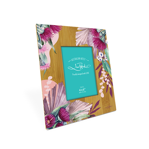 Bamboo Picture Frame - Plum Blossoms