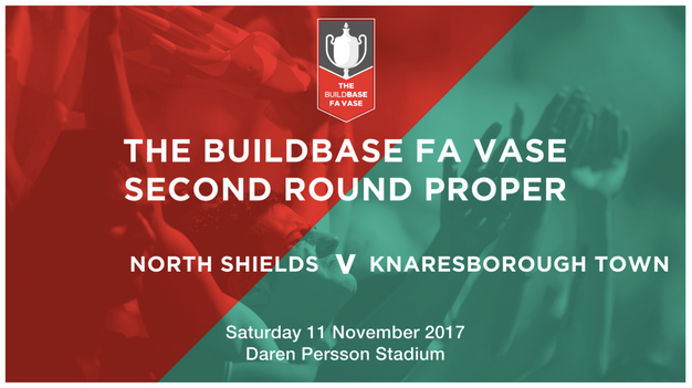 Fa Vase Who Are Knaresborough Town Home North Shields Fc