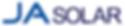 JA Solar panel installer brand logo