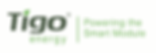 Tigo optimiser solar panel installer brand logo