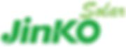 Jinko solar panel installer brand logo