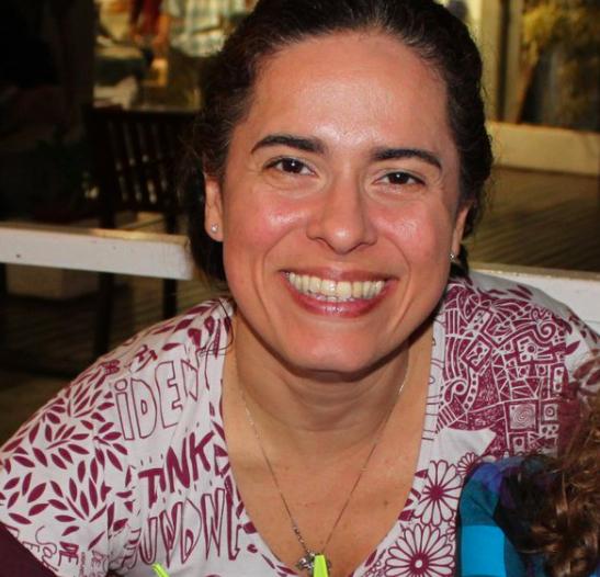 Andrea de Souza, radiologista