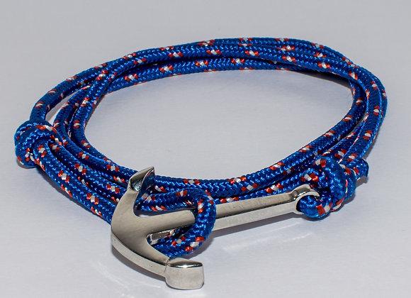 Anchor Bracelet - Dark Blue