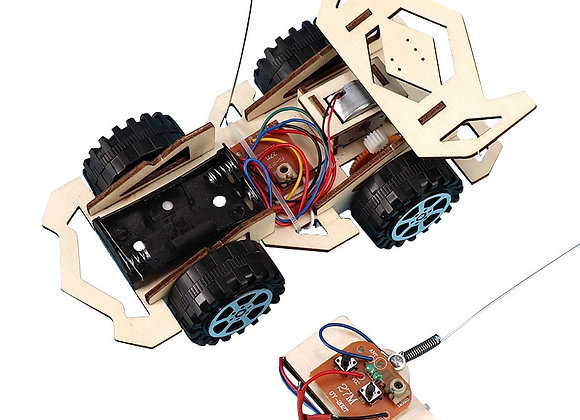 DIY RC Car Kids Toys Assembly Building Vehicle
