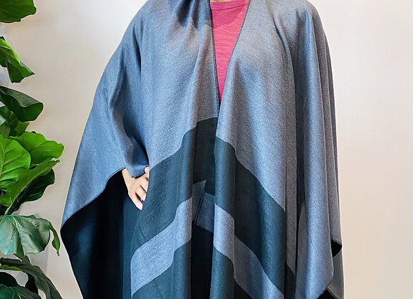 Charcoal Stripe Wrap