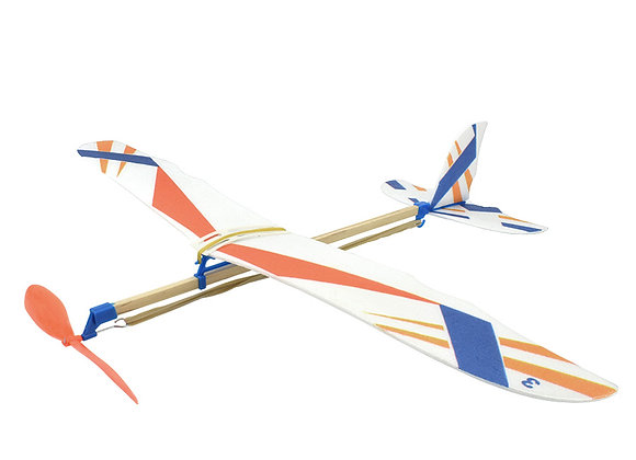 DIY Kids Toys Rubber Band Powered Aircraft