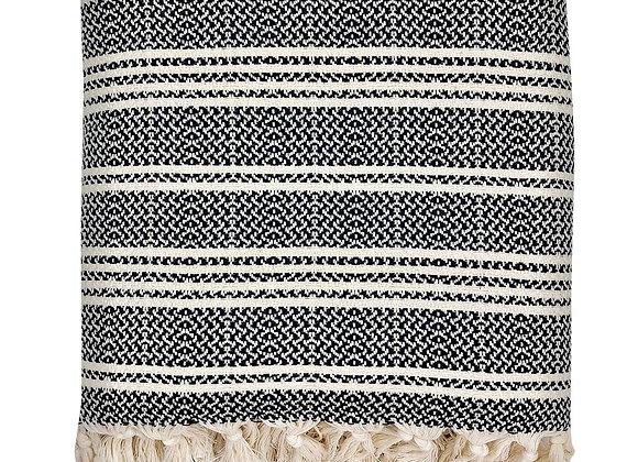 Woven Stripe Turkish Throw