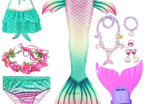 Girls Tail Mermaid Tails