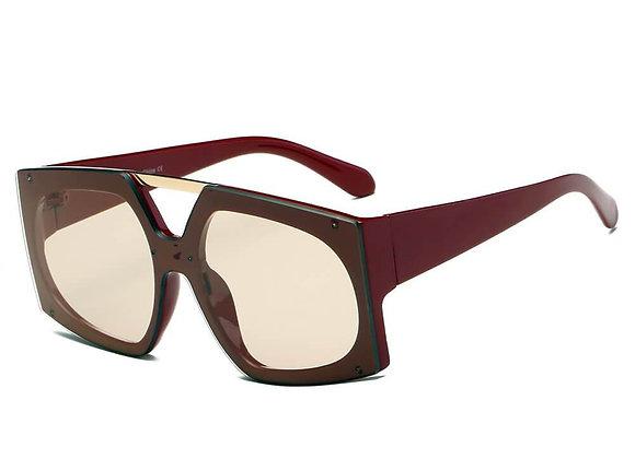 ESSEN | S2056 - Women Vogue Fashion Square Oversize Sunglasses